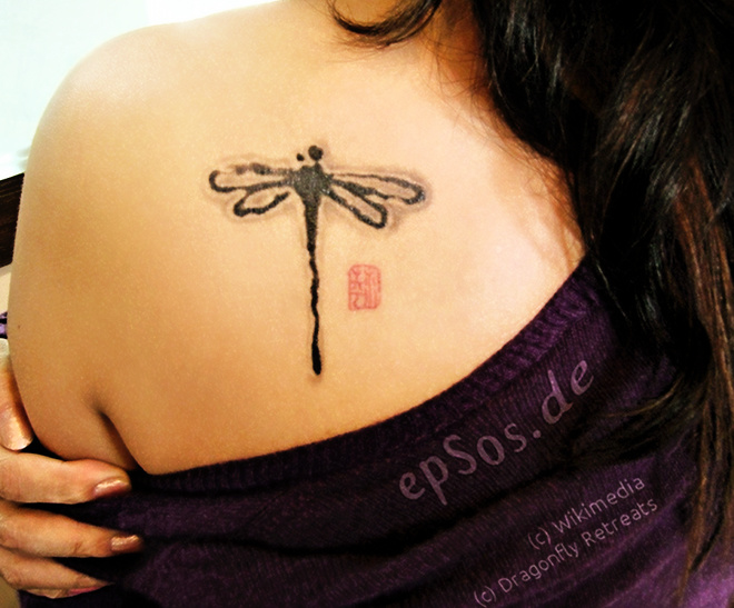 Best back tattoo designs for women and shoulders.