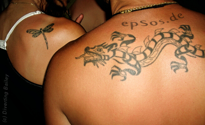 Best dragon tattoo design idea for men.