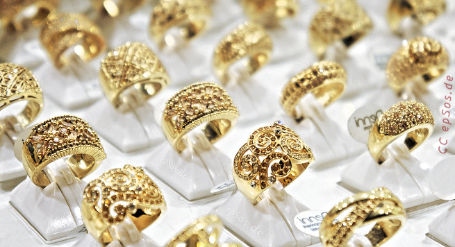 Beautiful gold ring designs for wedding.