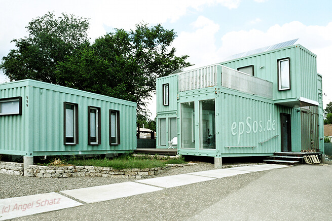 Simple shipping container houses for all - Building shipping container homes ...