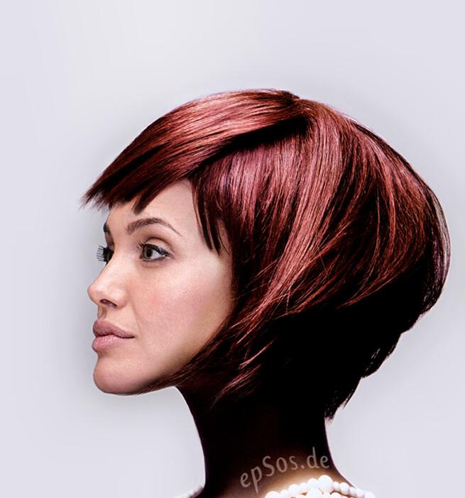 Fine Short Hairstyles For The Wedding Of Angelina Jolie Epsos De Short Hairstyles For Black Women Fulllsitofus