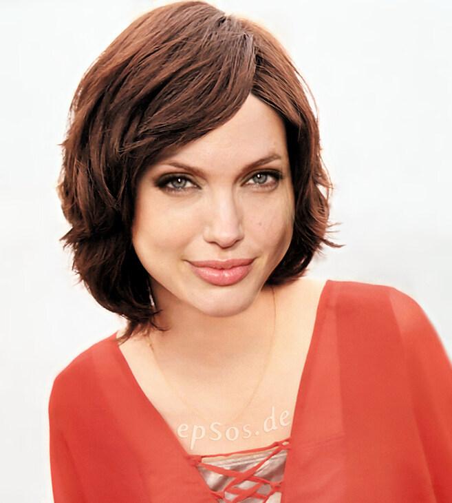 Astounding Short Hairstyles Make Angelina Jolie Happy Epsos De Short Hairstyles For Black Women Fulllsitofus
